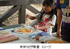 手作りピザ教室 イメージ