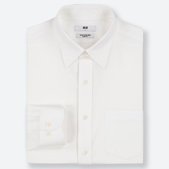 スリムフィットシャツ