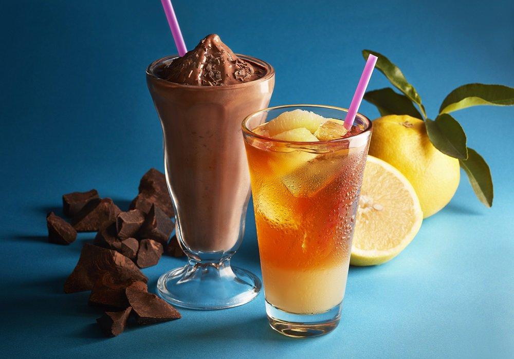 「チョコリスタ(R)(SHAKE)/&TEA グレープフルーツセパレートティー」