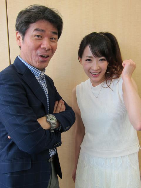 硬軟自在の予想スタイルに定評がある、スポーツニッポンの名物記者・鈴木正氏(左)と、1レースの最高払戻金額は388万1000円という生粋のギャンブラー・藤川京子氏