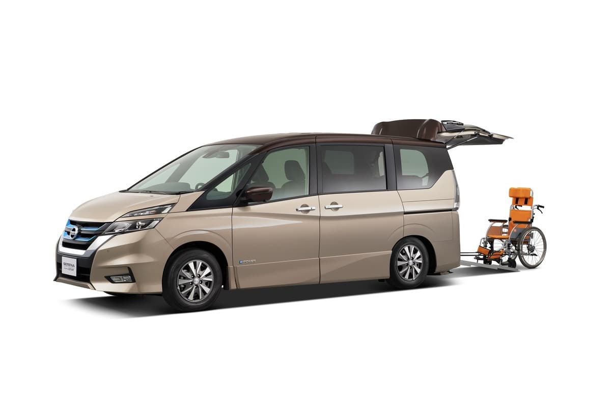 日産自動車とオーテックジャパン「ウェルフェア2019」に福祉車両3台を出展