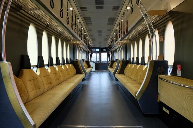 観光列車「ひえい」車内(イメージ)