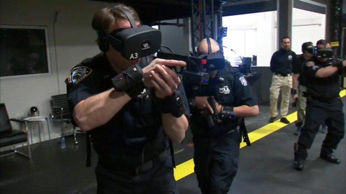 ニューヨーク市警、テロ対策トレーニングにVR導入