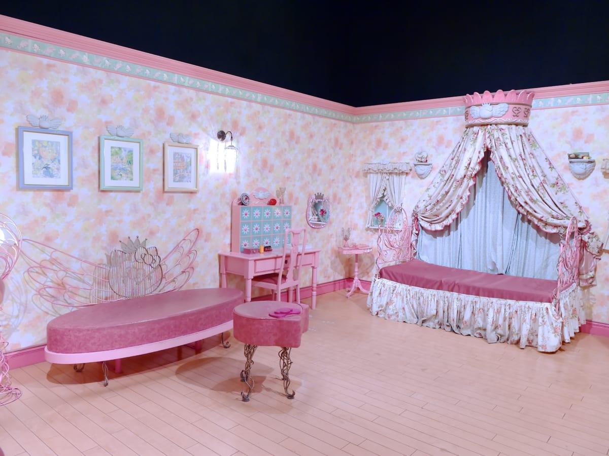 ハーモニーランド「キティキャッスル」キティのお部屋