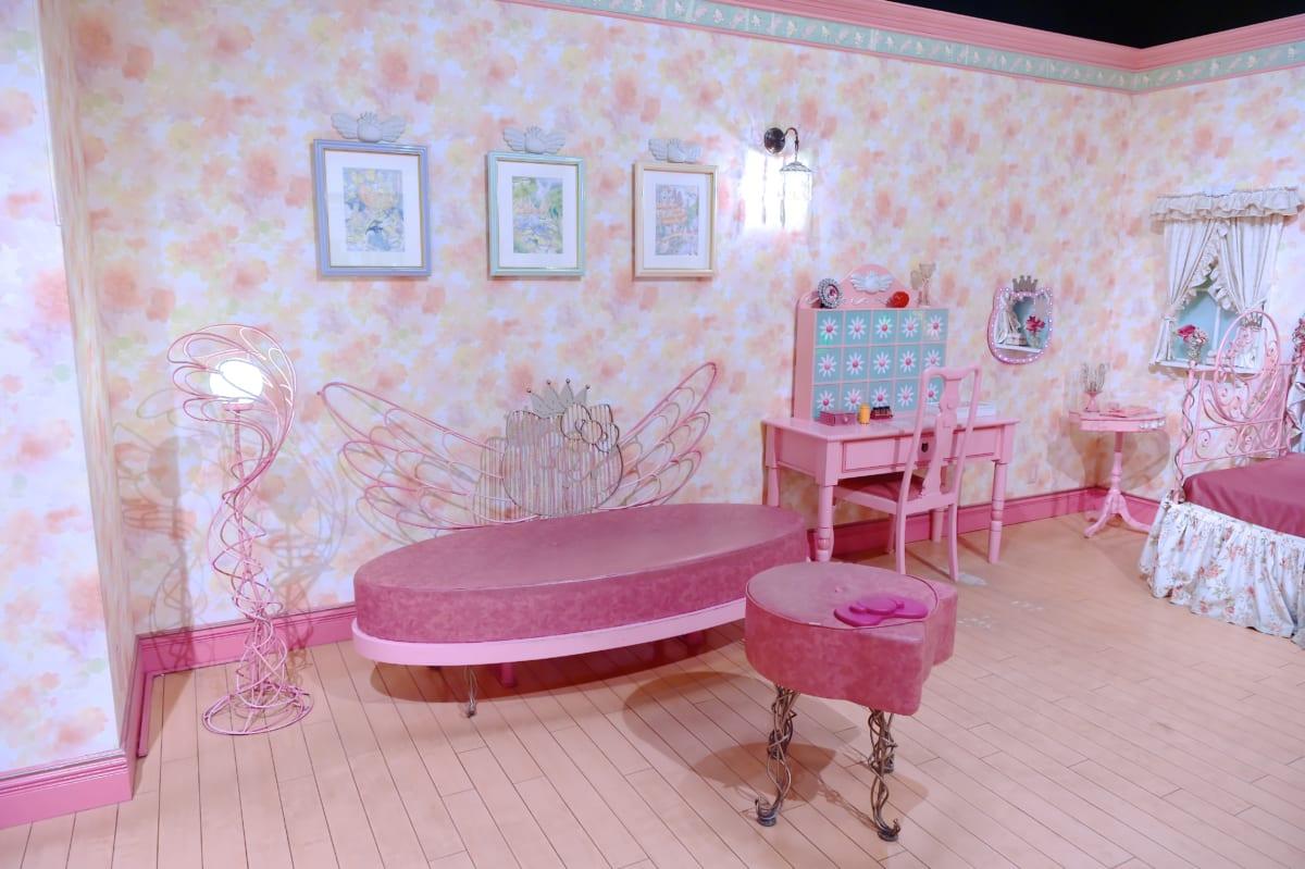 ハーモニーランド「キティキャッスル」キティのお部屋4