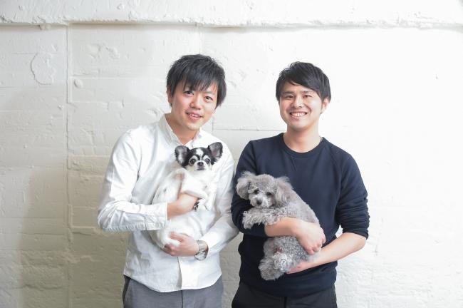 左:CEO岩橋洸太、右:COO矢作 裕之