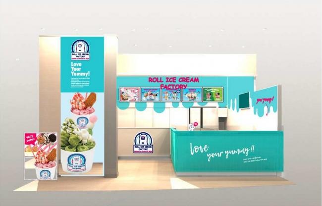 「ロールアイスクリームファクトリー」初の海外店舗が台湾に誕生!