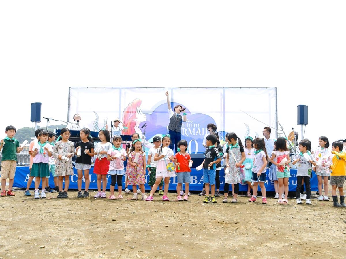 『リトル・マーメイド』30周年記念イベント 集合2