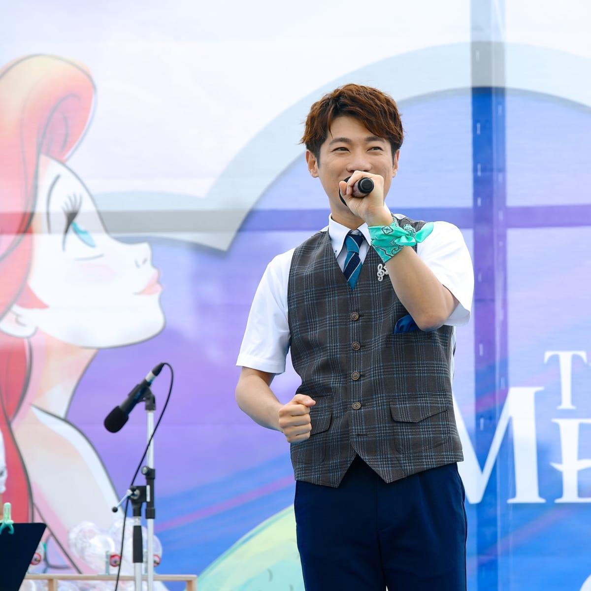 『リトル・マーメイド』30周年記念イベント 横山だいすけさん3