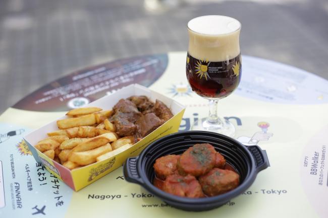 美味しいベルギービールとベルギーの料理