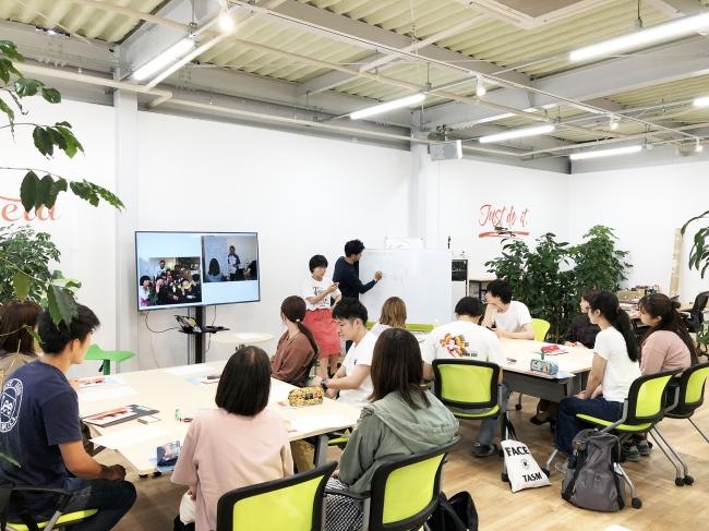 地域商社こゆ財団が宮崎公立大学と連携した連続講座「帰って来たくなるまちづくり」の様子(第二回講座)