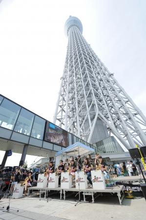 ▲すみだストリートジャズフェスティバル(過去の様子)(C)TOKYO-SKYTREETOWN
