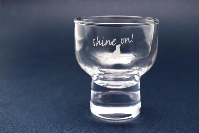 ファシリティドッグ・オリジナル酒グラス お買い上げ金額9,720円(税込)以上で進呈(限定50個)