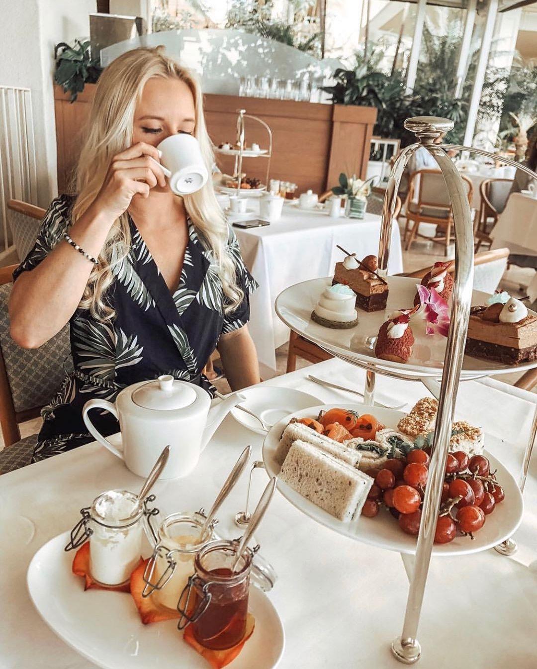 halekulani afternoon tea
