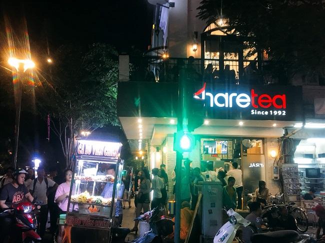 ホーチミンの中心街にある台湾のタピオカ企業 Share tea