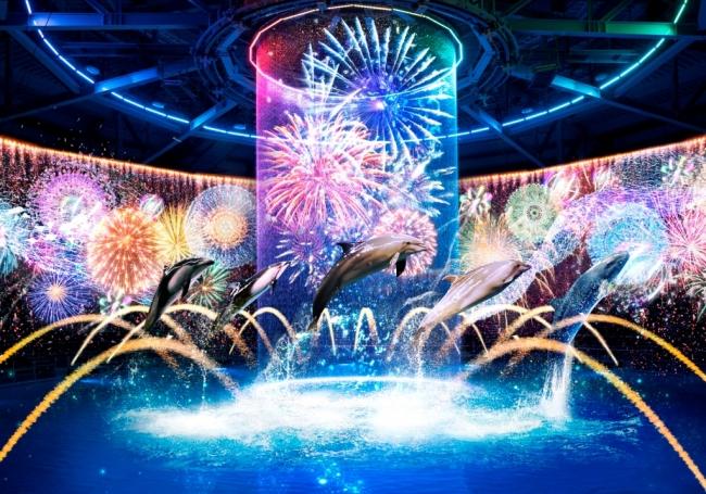「瑠璃花火 -Digital Fireworks-」 ※イメージ