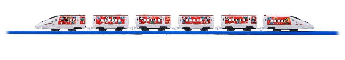 JR九州 Waku Waku Trip 新幹線 ミッキーマウス&ミニーマウスデザイン プラレール2