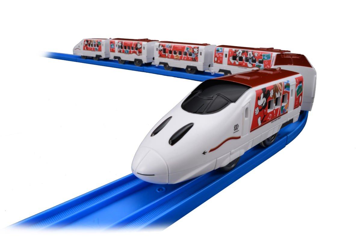 JR九州 Waku Waku Trip 新幹線 ミッキーマウス&ミニーマウスデザイン プラレール