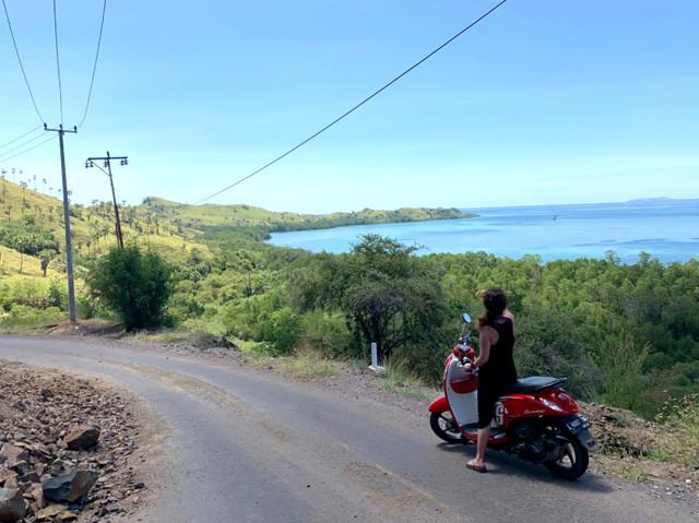 バイク旅っていうのもいいなぁ。風が気持ちいい~