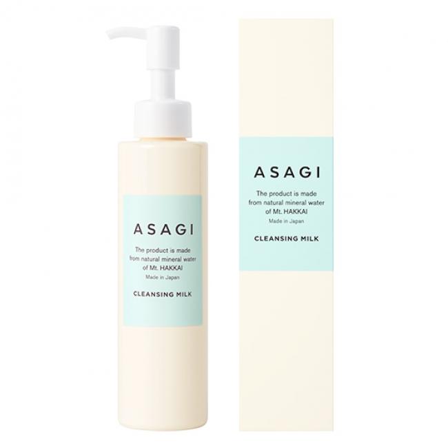 「ASAGI」クレンジングミルク〈化粧落とし〉160ml