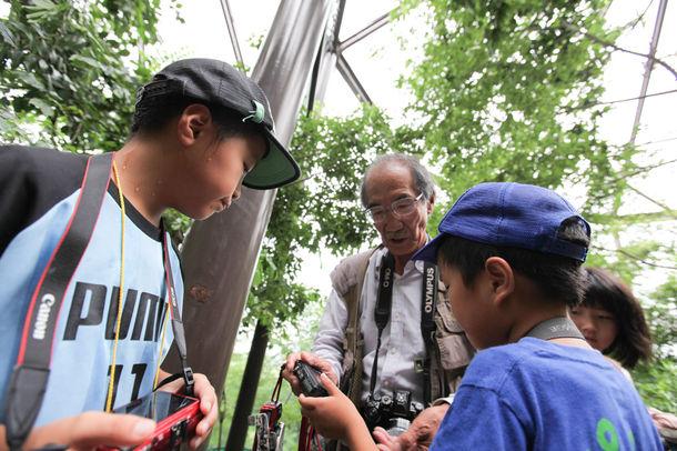 海野和男先生の昆虫写真講座