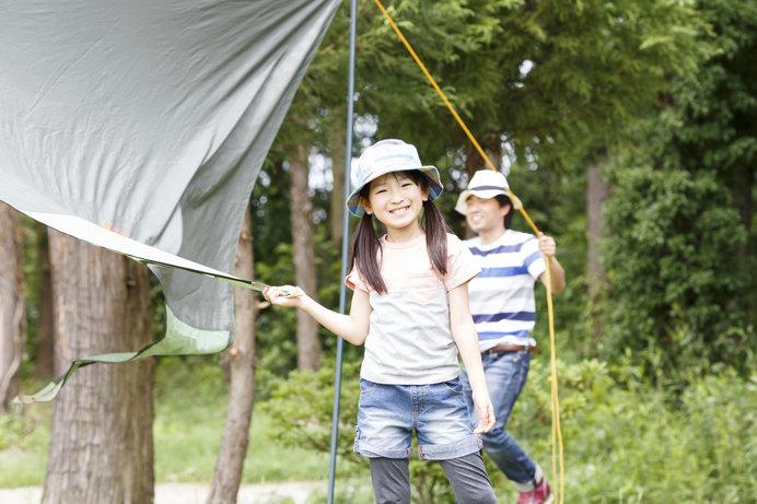 涼しい高原でのキャンプなら、快適に家族の絆を深められる♪