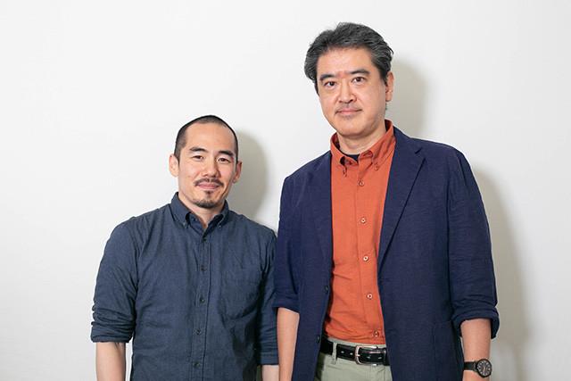 ミキ・デザキ氏(左)と山崎雅弘氏