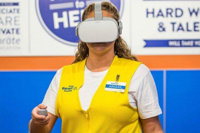 ウォルマート、Oculus Goを17,000台導入 従業員のVRトレーニングに利用