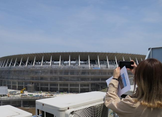 新国立競技場建設定点観測プロジェクト