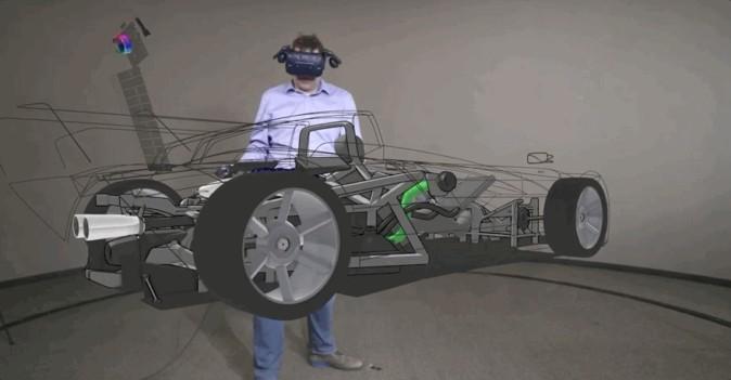 フォード、VRモデリングツールで新車のデザイン設計