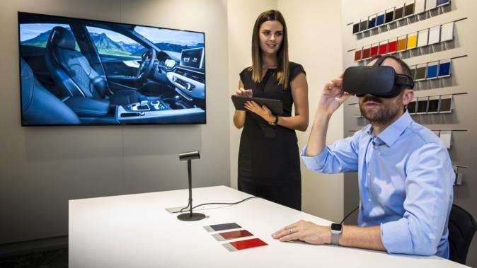 アウディ、全世界1,000店舗で「VRショールーム」本格展開