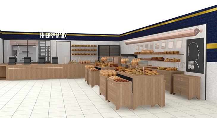 『ティエリー マルクス ラ ブーランジェリー』の店舗イメージ
