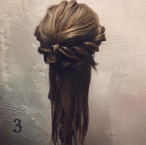 きちんと感はロープ編みで叶える☆およばれに大活躍なまとめ髪アレンジ3