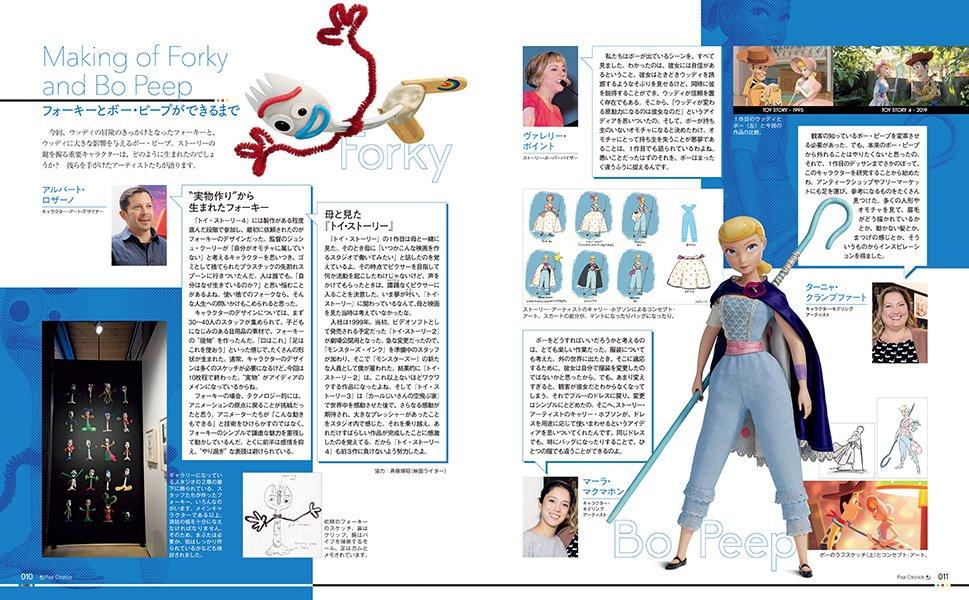 ピクサー クロニクル全史 キャラクター紹介