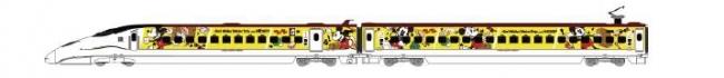 JR九州 Waku Waku Trip 新幹線(5月17日~9月1日運転)(C)Disney