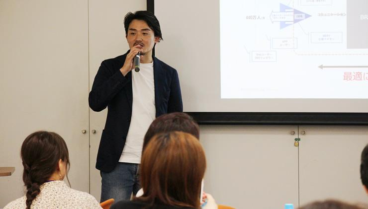 青木 秀樹氏(株式会社MERY BRAND STUDIO 部長)