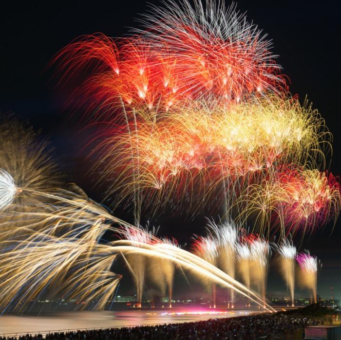 『幕張ビーチ花火フェスタ2019(第41回千葉市民花火大会)』