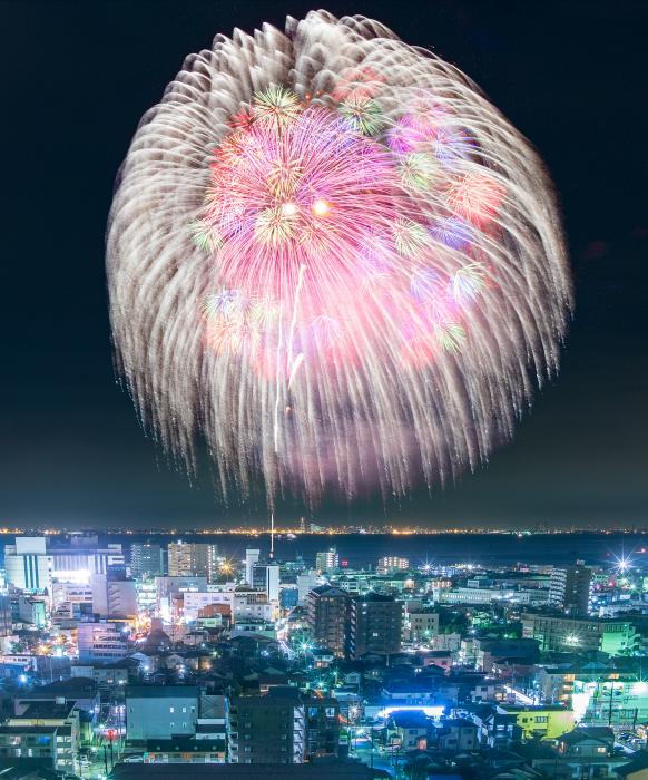 『第72回木更津港まつり花火大会』