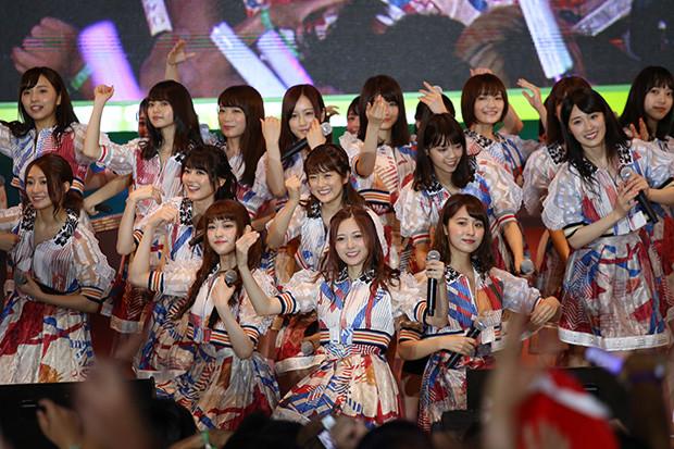 「超選抜」がサプライズ出演した乃木坂46(2017年)