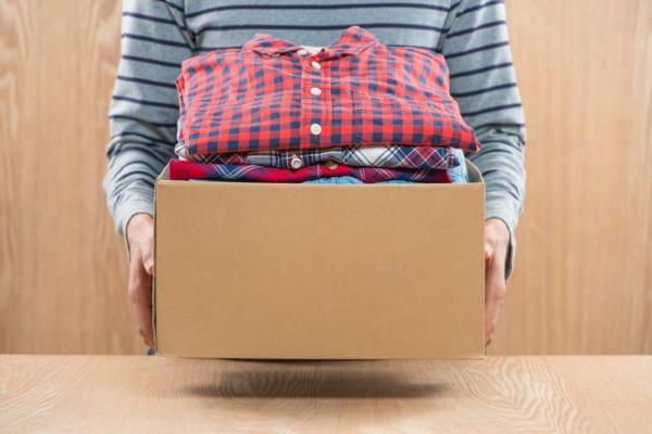 衣料品の寄付