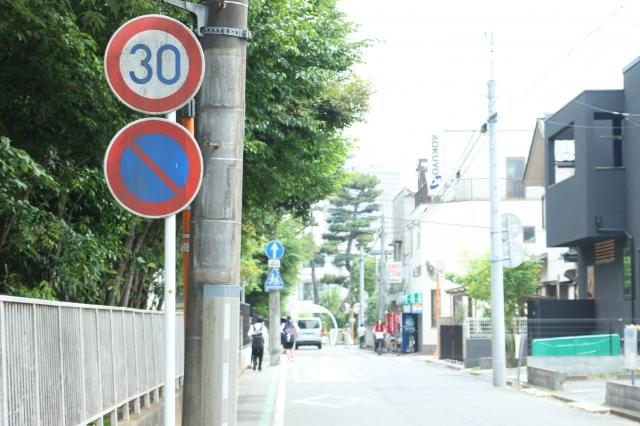 交通違反である路上駐車の違反件数