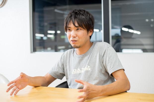 ドレスアップパーツメーカーのダムドの代表取締役・面高翔五さん