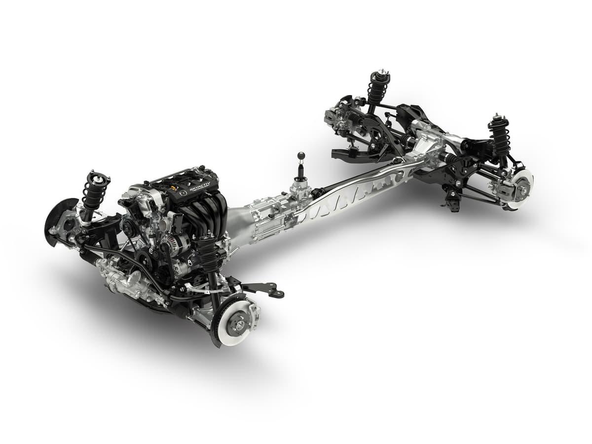 ロードスターの北米仕様MX-5ミアータは2リッターエンジンを搭載