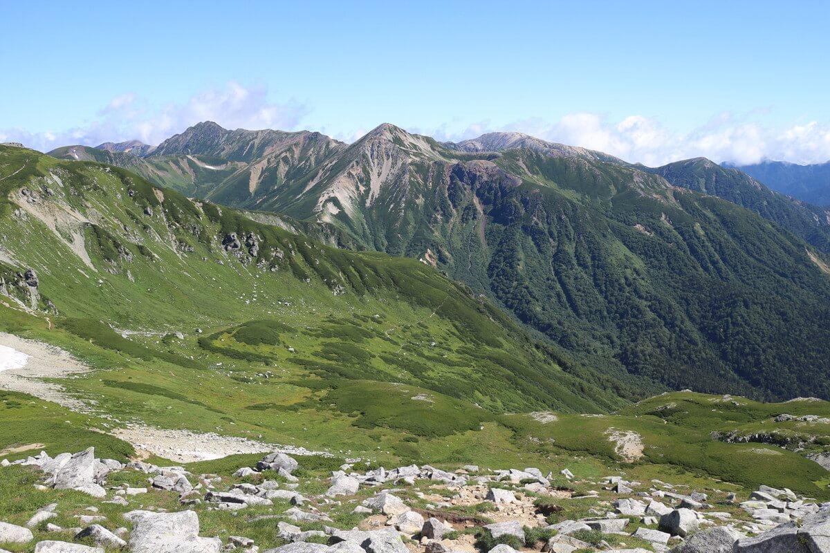 北アルプス登山