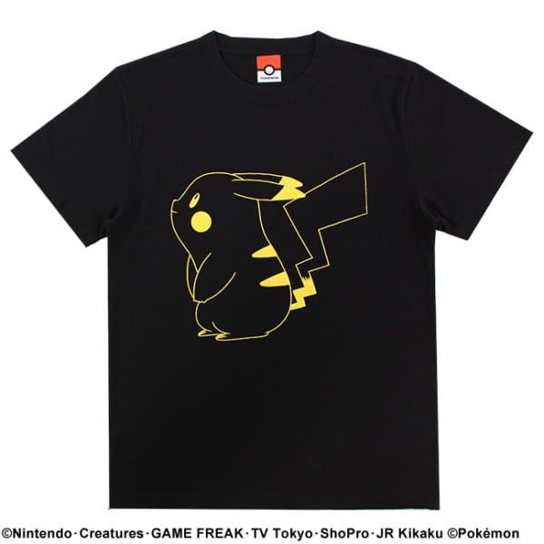【ポケモン】ピカチュウ/カラーTシャツ4