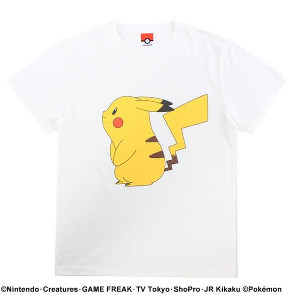 【ポケモン】ピカチュウ/カラーTシャツ3