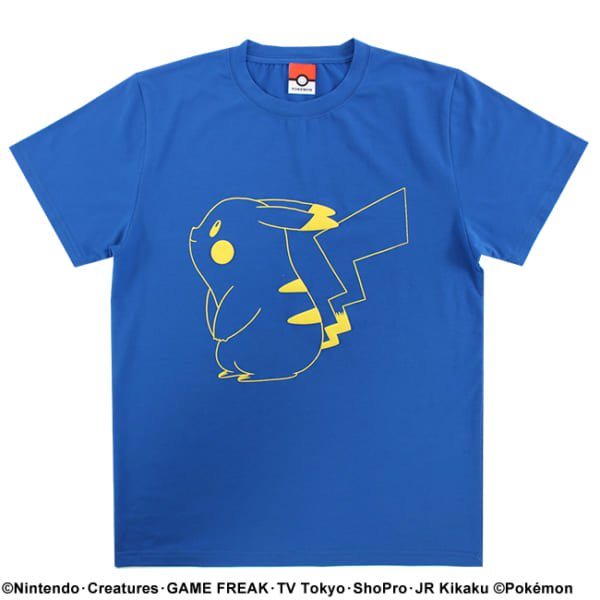 【ポケモン】ピカチュウ/カラーTシャツ6
