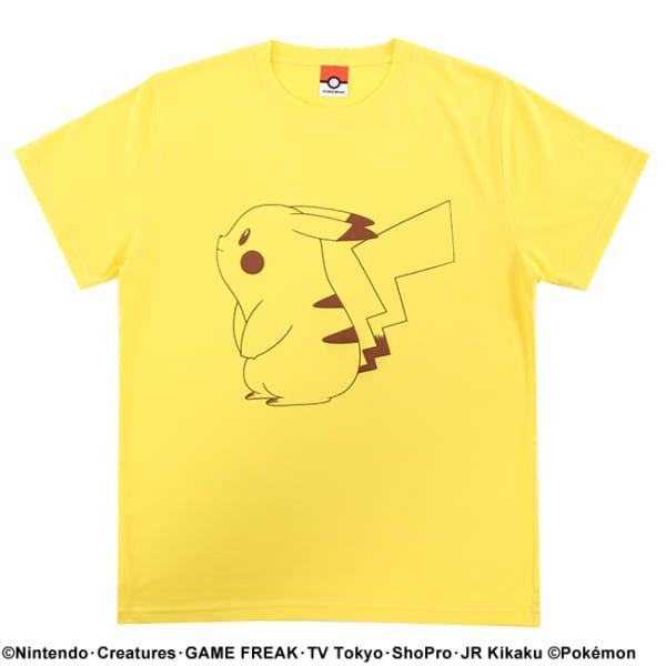 【ポケモン】ピカチュウ/カラーTシャツ7