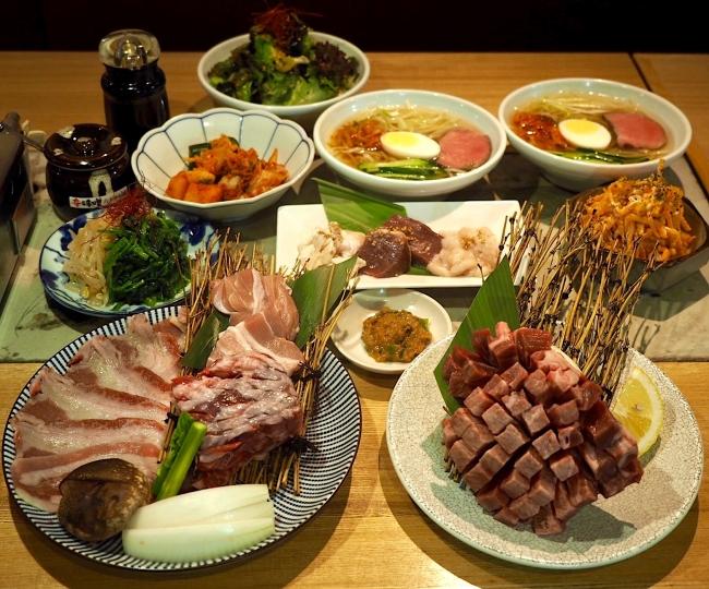 贅沢焼肉コース 5000円(税込)
