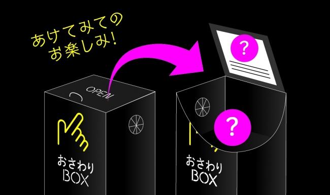 おさわりBOX